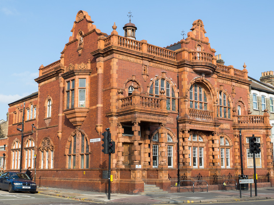 Old Manor Park Library exterior. Image by Emil Charlaff